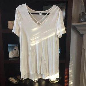 NWOT- Old Navy Luxe Cotton Tee